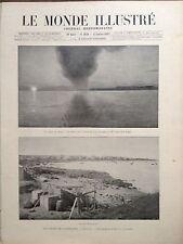 LE MONDE ILLUSTRE 1897 N 2078 L' ISLANDE : LE SOLEIL DE MINUIT A REYKJAVIK