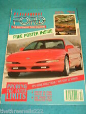 PERFORMANCE FORD - RADICAL PINK RS TURBO - OCT 1992