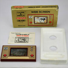 Nintendo Game & Watch Octopus OC-22 Wide Screen Vintage 1980's LCD Handheld