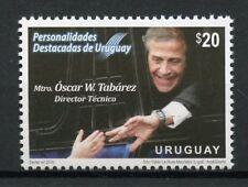 Uruguay 2018 MNH Oscar Tabarez Football Manager 1v Set Soccer Sports Stamps