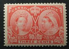 Canada #53, XF, MNH OG, Well Centered Queen Victoria Jubilee Issue 1897