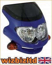 Parabrezza blu anteriore per moto