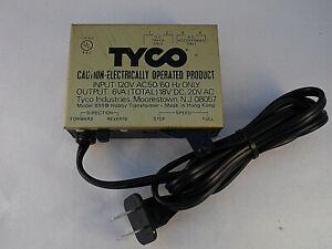 Vintage Tyco HO & N Scale Hobby Transformer Model 899B Power Pack Tested III
