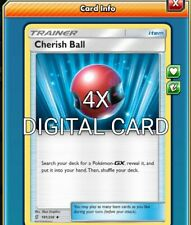 Cherish Ball 4X Pokemon TCG Online PTCGO 191/236 DIGITAL CARD FAST
