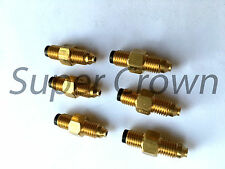 Pack of 6 Brass Lube Metering Check Valve 4mm Inline Connector PSS 3 Showa