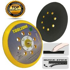 """Hook and Loop Velcro Backing Pad 150mm 6"""" for Sanding Discs & Polishing Bonnets"""
