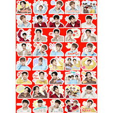 Kpop IKON Funny Expression Sticker for Mobile Luggage DIY Decorative Stickers