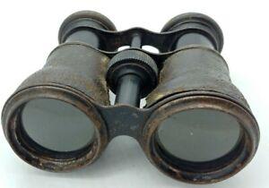 Vintage Antique Opera Glasses Binoculars 8X  Made in France