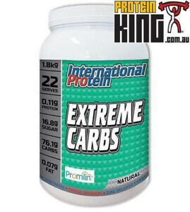 INTERNATIONAL PROTEIN 1.8KG EXTREME CARBS RECOVERY CARBOHYDRATES genr8 vitargo