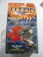 VINTAGE MOC TITAN AE New Action Figure ARC RUNNER AND CALE