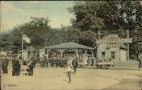 Troy NY Cancel Rensselaer Park c1910 Postcard