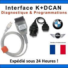 INPA EDIABAS K+DCAN D-CAN OBD2 OBDII USB Interface Diagnostic Cable outil BMW