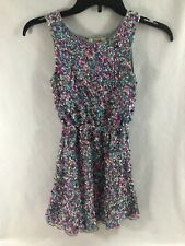 Girls Peek Zoe Sequin Party Dress Size Small 4-5 Pink Blue