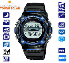 Casio solar power tide graph moon phase surf diver watch rapala fishing g shock
