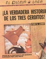 ¡La verdadera historia de los tres cerditos!-ExLibrary