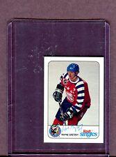 Wayne Gretzky 1992 Kraft Singles Hockey Card 060717jh