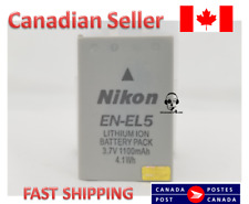 Nikon OEM EN-EL5 Rechargeable Li-ion Battery for Coolpix P3, P4. P5000, S10,3700