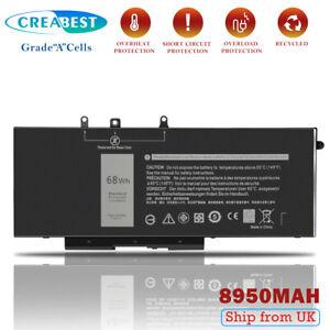 7.6V 8950mAh GJKNX Battery For Dell Latitude E5590 E5490 E5280 GD1JP DY9NT 93FTF