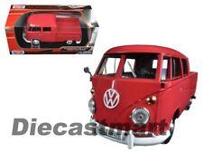 Vw T1 bus Jaron plataforma rojo coche modelo 1 24 / Motormax