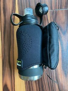 Lululemon x Amphipod 16 oz. Travel Water Bottle with Sleeve, Excellent Condition