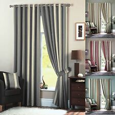 Polyester Striped Curtains & Pelmets