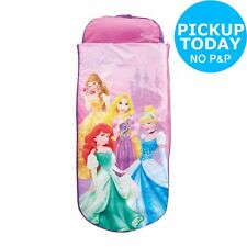 Airbed and Sleeping Bag in One Nap Mat Featuring Belle Cinderella and Aurora Ready Bed Disney Princess All in One Sleepover Bed