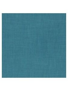 John Lewis Fraser Upholstery Fabric Teal 2.5m