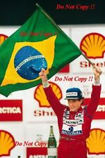 Ayrton Senna McLaren MP4/6 Winner Brazilian Grand Prix 1991 Photograph 2