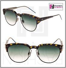 37a66a53ec05 CHRISTIAN DIOR SPECTRAL Bronze Havana Green Yellow Havana Aviator Sunglasses