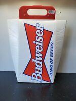 Vintage BUDWEISER Official KOOLIT COOLER Tote Bag w Handle Anheuser-Busch FROG