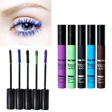 5 Colors Mascara Blue Black Brown Gradient Colorful Curling Eyelash Cosmetic Kit