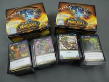 2 Opened Boxes TCCG WoW World of Warcraft Heroes Azeroth Cards Game Blizzard