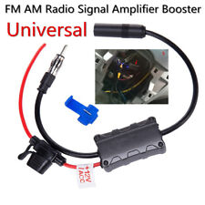 12V Car FM AM Radio Stereo Antenna Signal Amplifier Booster 48-860 MHZ Frequency