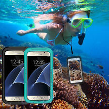 Silicone/Gel/Rubber Transparent Waterproof Mobile Phone Cases, Covers & Skins for Samsung Galaxy S5