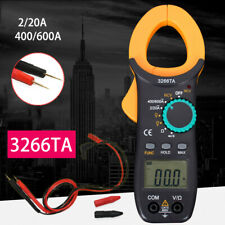 Digital Clamp Meter AC / DC Current Voltage Multimeter Temp Volt Amp Tester