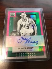 2017/18 Status Frank Ramsey Auto Autograph /99 Celtics