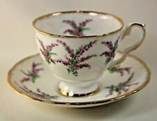Royal Stafford Heather Cup and Saucer Bone China