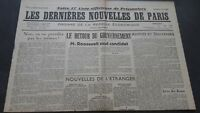 Newspapers the Last European Nouvelles de Paris N°30 July 1940 ABE