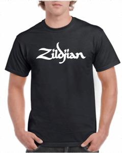 Zildjian Cymbals Logo Tee T-Shirt Music Drums Band S-XXXL Cotton Gildan Brand