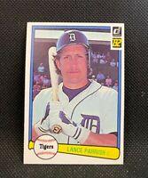 1982 Donruss Lance Parrish #281 - Detroit Tigers - NM
