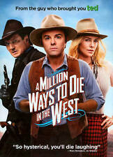 A Million Ways to Die in the West (DVD, 2014)