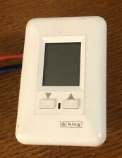 King ES230-R Electronic Thermostat  240 Volt - Single Pole