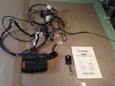 OEM Toyota Keyless Alarm System TVSS Security 1 button remote MR2 Celica Alltrac