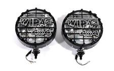 "8"" 100w  WIPAC Off Road 4 x 4  Drive Lamp (Black Body)  (Pair)"