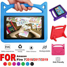 For Amazon Fire 7 7inch tablet 2019 2017 Kids EVA Handle Smart Case Cover Stand