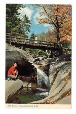 The Basin Franconia New Hampshire Unused Vintage Postcard EB21