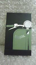 VESPA Mini Note Pad Notebook Vespa Vintage Nero Verde Nuovo