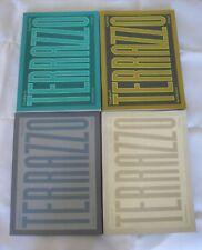 Terrazzo 4,5,9,10 Radice/Sottsass Memphis Design Postmoderne
