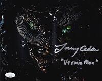 LARRY CEDAR Signed CONSTANTINE 8x10 Photo IN PERSON Autograph VERMIN MAN JSA COA