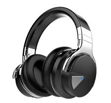 COWIN E7 Auriculares Inalámbricos 30hr Bluetooth Micrófono Hi-Fi Deep Bass NEGRO